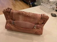 Gorgeous Phyton rose leather bag Toronto, M8Y 3N3