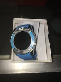 1 smart watch blue only