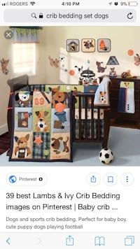 brown wooden crib with changing table screenshot