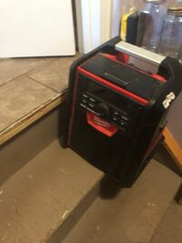 black and red portable generator Calgary, T3K 4S3