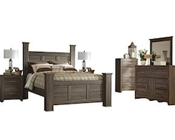 Ashley Juararo Queen Bedroom Set