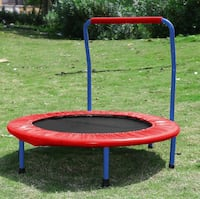 NEW IN BOX Kids Trampoline with Safety Rail Fairfax, 22033