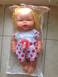 Brand new with Tag  in bag never been played with Big doll like real baby talking Turkish Hamilton, L8W 3Z3