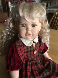 Porcelain doll Chino, 91710
