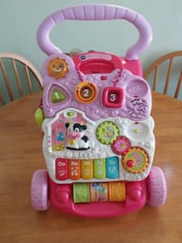 pink and white Vtech learning walker Surbiton, KT5