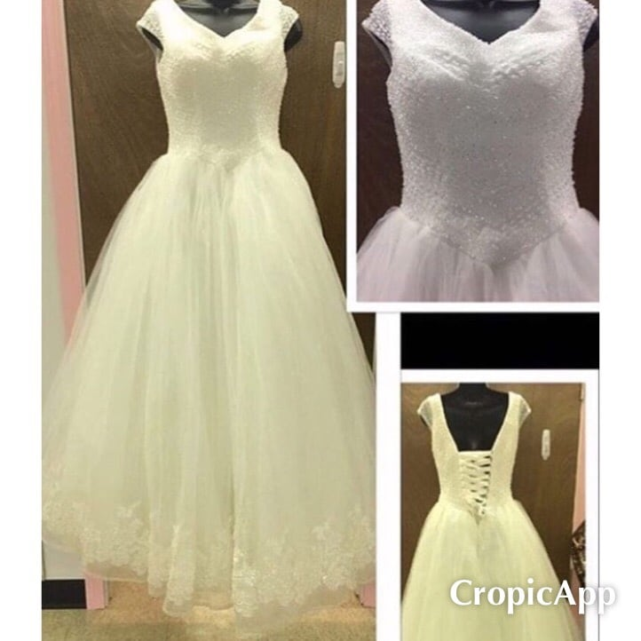 New With Tags Size 10 Bridal Gown $300