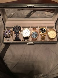 6 men's watches  Caledon, L7E 2K1