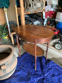 Antique wood table Toronto, M6H 2L4