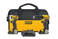 DEWALT Brushless 20V MAX Li-Ion Cordless Drill/Impact Combo Kit (2-Tool) w/ (2) Batteries 1.5Ah, Charger and Tool Bag Coquitlam