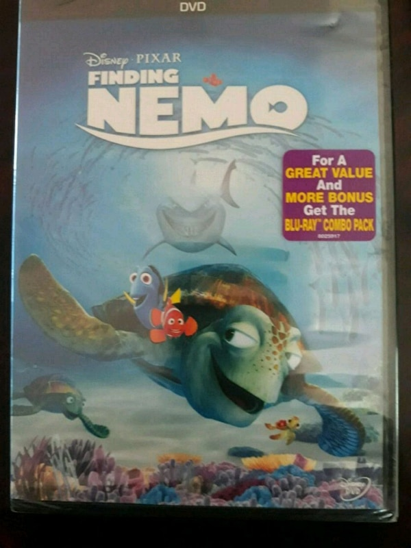 9556043d7df Disney's DVD New & Sealed: Finding Nemo
