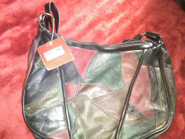 afd518b06 Used green red and black leather hobo bag for sale - letgo