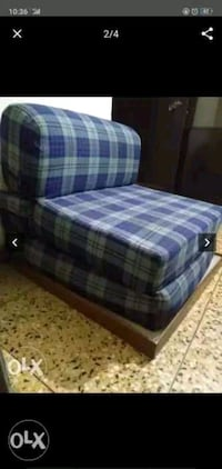 blue and white plaid fabric sofa Faridabad, 121007