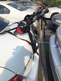 Bell 2 bicycle trunk carrier is in like new condition. Serious buyers only please thanks . Silver Spring, 20903