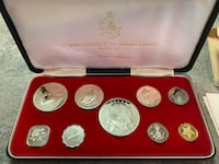 1971 silver Bahamas proof set