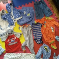 toddler's lot of apparels