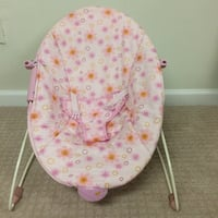 Pink Baby Bouncer (Used Only Once) WASHINGTON