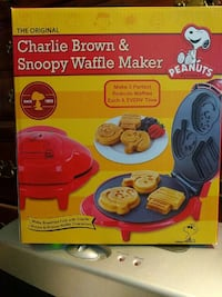 NEW CHARLIE BROWN & SNOOPY Waffle Maker Lombard, 60148