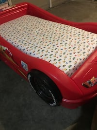 Cars Bed with waterproof mattress