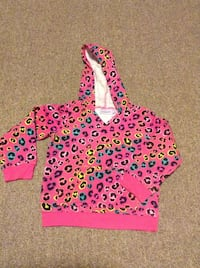 pink and purple polka dot pullover hoodie 384 km