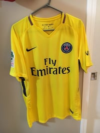 PSG away yellow soccer jersey (#10 Neymar) Winnipeg, R3T 3H2