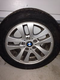 Bmw auto rims and tires