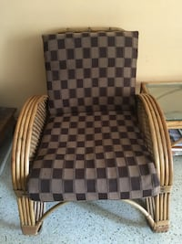 Brown and black plaid sofa chair Bengaluru, 560078