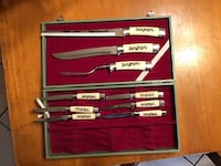 Vintage carving set..pickup at the qt on highway 20 or qt on 11th st and 169  Collinsville, 74021