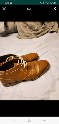 Brown dress shoes size 12 Oklahoma City, 73107