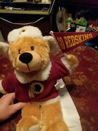 white and red skins bear plush toy Hagerstown, 21740