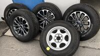 2018 F150 OEM rims and tires plus spare tire, 275/65R18, no damages on rims and tires, under 20miles usage Chino