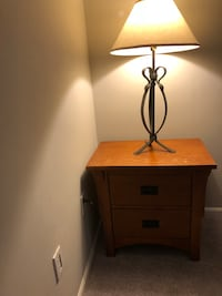 End table & lamp Westwood, 07675