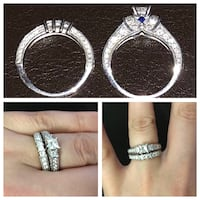 Engagement and Wedding Ring Set (Vera Wang Love Collection)  Edmonton, T5A