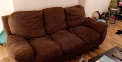 Loving couch for new home