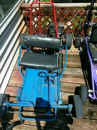 blue and black mobility scooter Washington, 20018