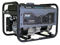 black and gray portable generator Hyattsville, 20782