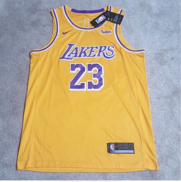best loved 8c3e2 f4dcb Lebron James Lakers Jersey
