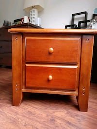 Solid Wood 2-Drawer Night Stand  Allentown, 18104