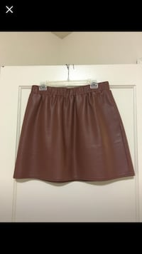 women's brown skirt 37 km