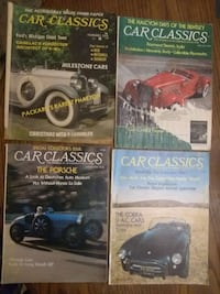 Collection Vintage 1970s 'Car Classics' Magazines Indianapolis, 46201
