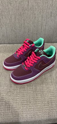 2013 Nike Air Force 1 Sz  [PHONE NUMBER HIDDEN]  Cherrywood Red, Pink Foil Green Scottie Pippen 8.5 2003 Passaic, 07055