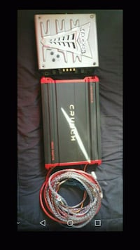 black and red Sony Xplod amplifier Oakland, 94601