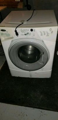 white front-load clothes washer Winnipeg, R2W 1E7