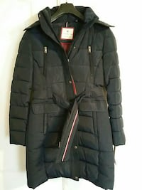 Midnight blue Tommy Hilfiger coat. New with tags