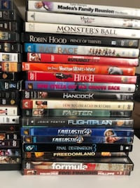 $2 per DVD Check my collection list in the description Gaithersburg, 20877