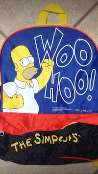 Brand New Simpsons backpack  Toronto, M8Z 3Z7