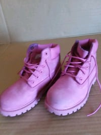 Timberland boots Pink Girl's Size 12 43 km