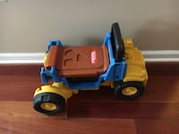 Tonka ride on and walking toy