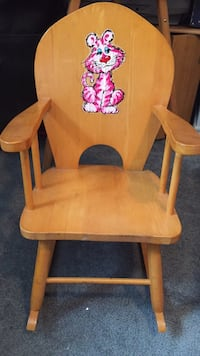 Child's rocking chair solid maple 30 + years old , N0E 1Y0