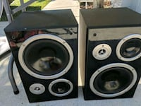 two black-and-gray speakers Greenacres, 33463