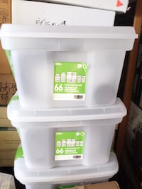 New 66 Piece Food Storage Box, Plastic Containers  3153 km